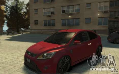 Ford Focus RS 2009 pour GTA 4