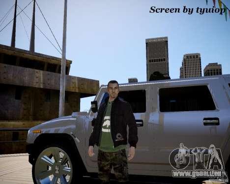 CoD Black Ops Hudson pour GTA 4