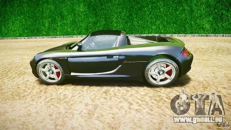 Porsche Carrera GT v.2.5 pour GTA 4 est une vue de l'intérieur