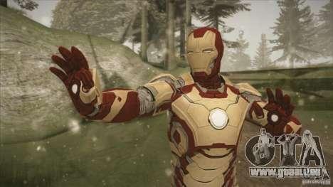 Iron Man Mark 42 pour GTA San Andreas deuxième écran