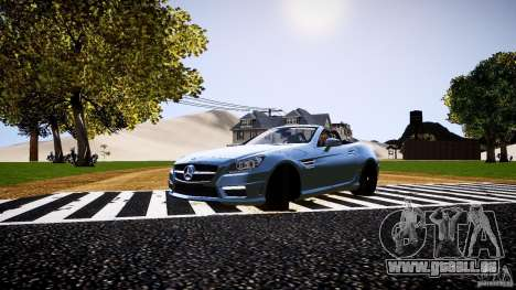 Mercedes-Benz SLK 2012 pour GTA 4 est une gauche