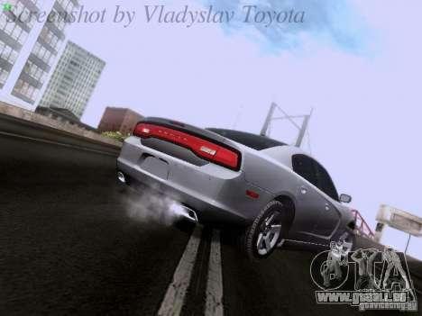 Dodge Charger 2013 pour GTA San Andreas vue de droite