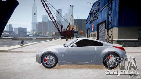Nissan Fairlady 350Z für GTA 4 linke Ansicht
