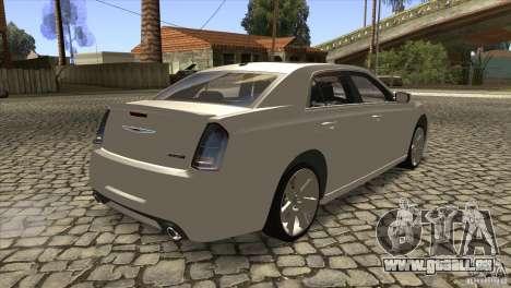 Chrysler 300 SRT-8 2011 V1.0 für GTA San Andreas rechten Ansicht