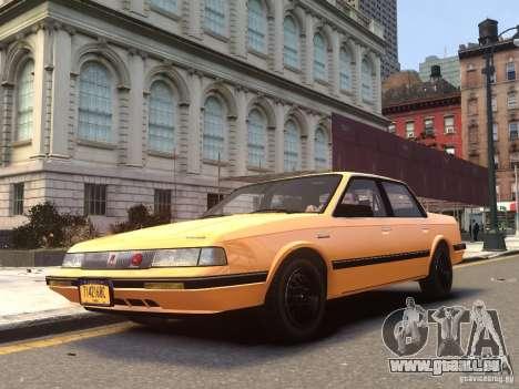 Oldsmobile Cutlass Ciera 1993 pour GTA 4