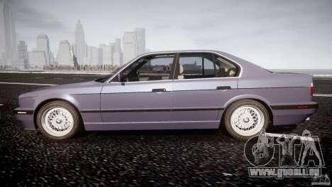 BMW 5 Series E34 540i 1994 v3.0 pour GTA 4 est une gauche