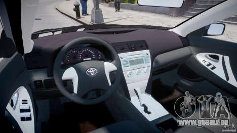 Toyota Camry 2007 (XV40) v1.0 pour GTA 4 est un droit