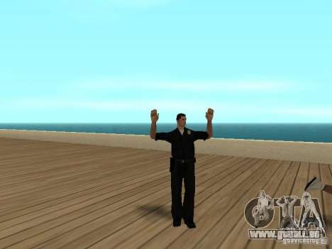 Flics lâches pour GTA San Andreas troisième écran