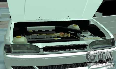 ВАЗ 2114 Tuning für GTA San Andreas Innenansicht
