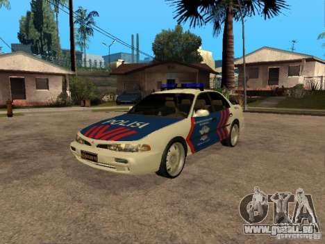 Mitsubishi Galant Police Indanesia pour GTA San Andreas