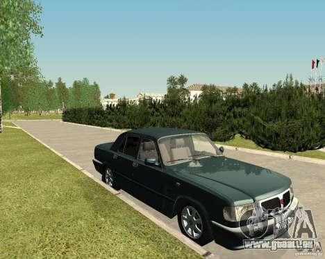 Volga GAZ 3110 pour GTA San Andreas vue de droite