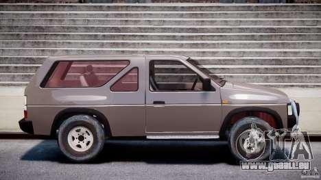 Nissan Terrano pour GTA 4 est une vue de l'intérieur