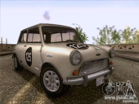 Austin Cooper S 1965 für GTA San Andreas Innen