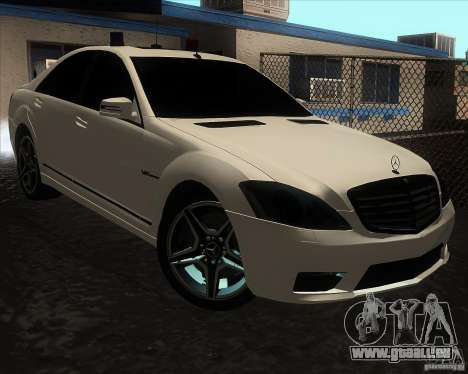 Mercedes-Benz S65 AMG W221 pour GTA San Andreas
