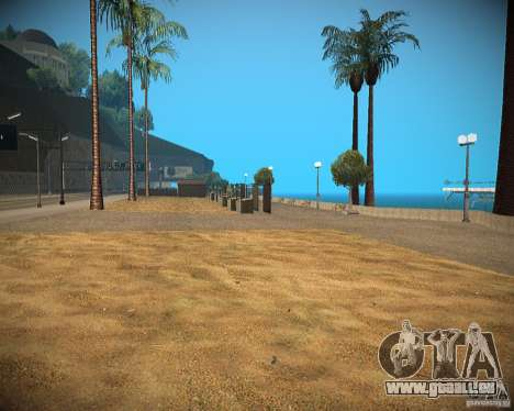 New textures beach of Santa Maria für GTA San Andreas zweiten Screenshot