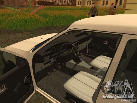 IZH 2126 pour GTA San Andreas vue arrière