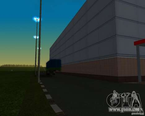 Voitures dans le stationnement à Anašana pour GTA San Andreas quatrième écran