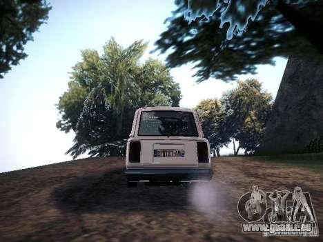 VAZ 2104 Air pour GTA San Andreas sur la vue arrière gauche