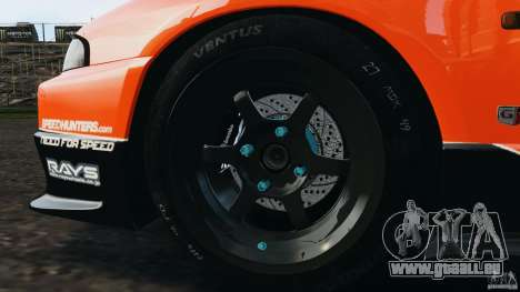 Nissan Skyline GT-R (R33) v1.0 für GTA 4-Motor