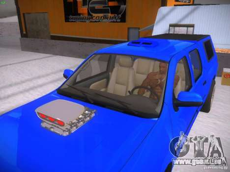 Chevrolet Silverado für GTA San Andreas Rückansicht