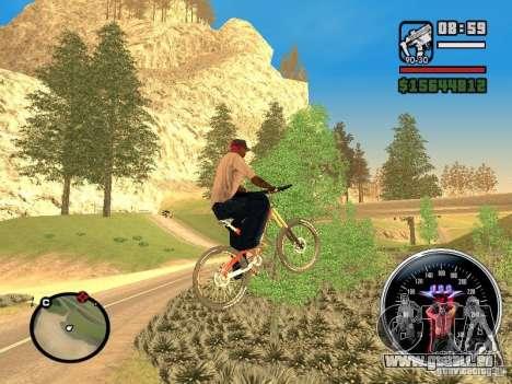 Speed Udo pour GTA San Andreas deuxième écran