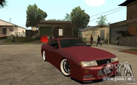 Elegy Modified für GTA San Andreas Rückansicht