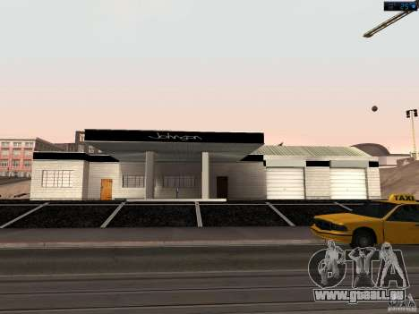 Nouveau garage à San Fierro pour GTA San Andreas
