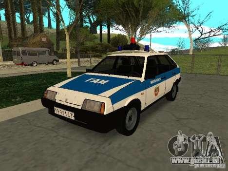 VAZ 2109 Polizei für GTA San Andreas