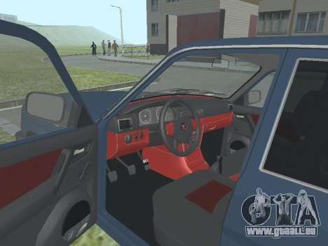 GAZ 3110 Wolga v1. 0 für GTA San Andreas Rückansicht