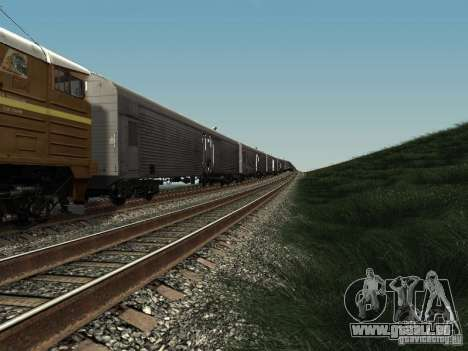 Refrežiratornyj wagon Dessau no 3 pour GTA San Andreas laissé vue