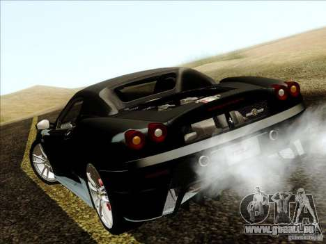 Ferrari F430 Scuderia Spider 16M für GTA San Andreas