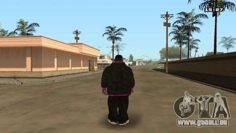 Skin Pack Ballas für GTA San Andreas sechsten Screenshot