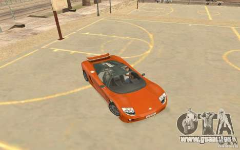 Veloche voiture pour GTA San Andreas sur la vue arrière gauche