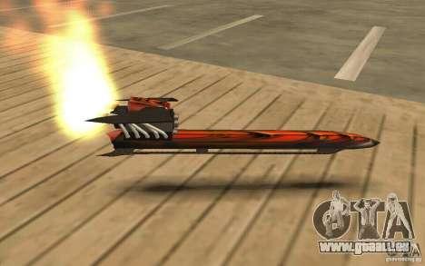 Hoverboard pour GTA San Andreas laissé vue