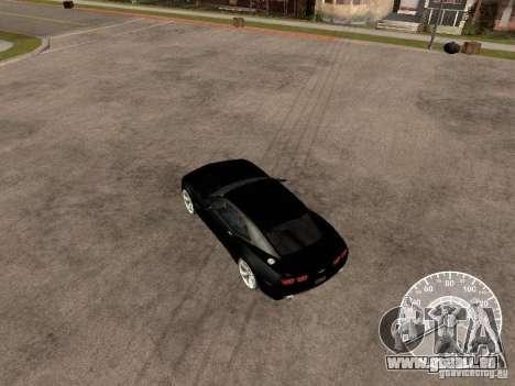 Chevrolet Camaro Concept pour GTA San Andreas vue de droite