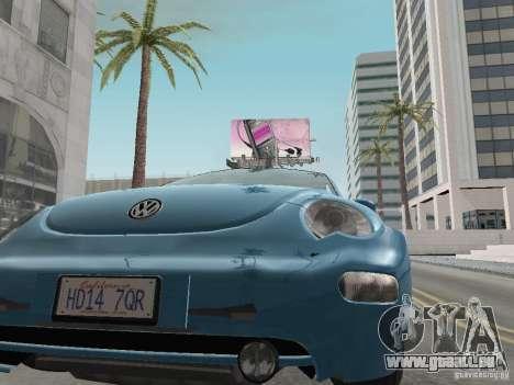 VW Beetle 2004 für GTA San Andreas rechten Ansicht