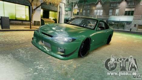 Nissan Silvia S15 pour GTA 4 est une vue de dessous