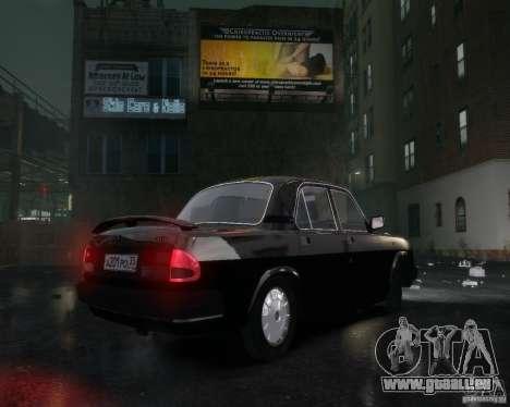 Volga gaz 3110 pour GTA 4 vue de dessus