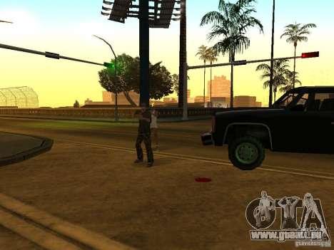 Flics camouflés pour GTA San Andreas quatrième écran