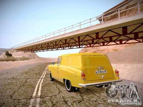 GAS 22 b Van für GTA San Andreas zurück linke Ansicht