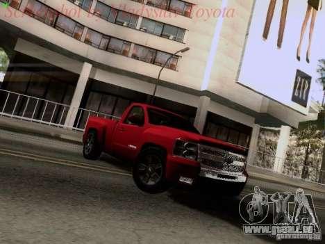 Chevrolet Cheyenne Single Cab für GTA San Andreas linke Ansicht
