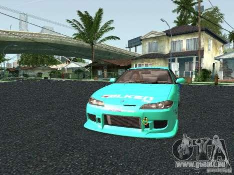 Nissan Silvia S15 Tunable pour GTA San Andreas vue de côté