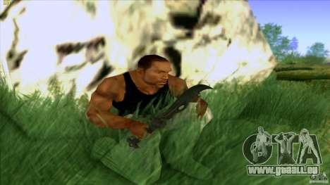 Chinese Knife from Far Cry 3 pour GTA San Andreas deuxième écran