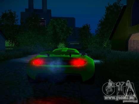Hennessey Venom GT Spyder für GTA San Andreas Motor