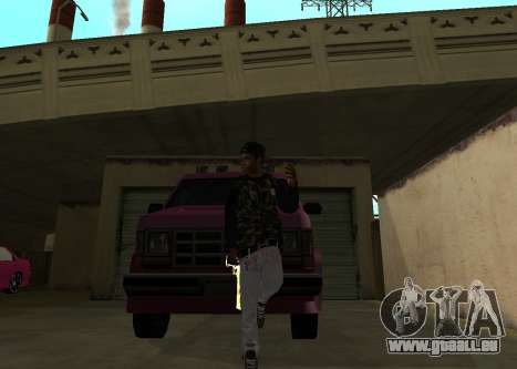 A$AP Rocky pour GTA San Andreas deuxième écran