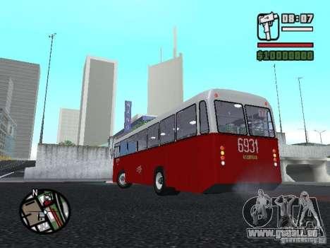 Ikarus Ik4 für GTA San Andreas linke Ansicht