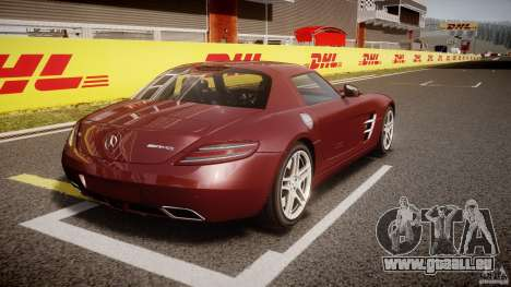 Mercedes-Benz SLS AMG 2010 [EPM] pour GTA 4 vue de dessus