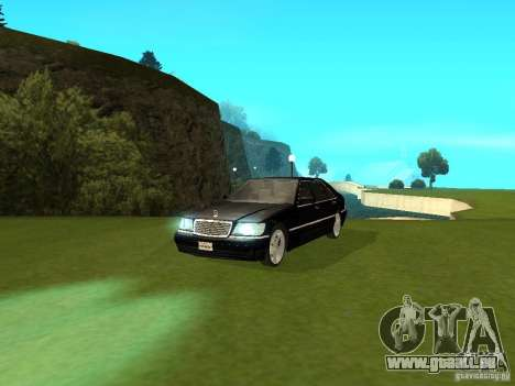 Mercedes-Benz 600 W140 für GTA San Andreas rechten Ansicht
