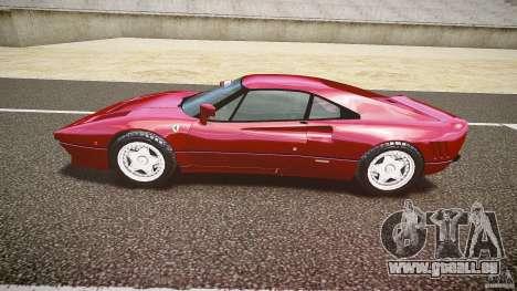 Ferrari 288 GTO für GTA 4 Innenansicht