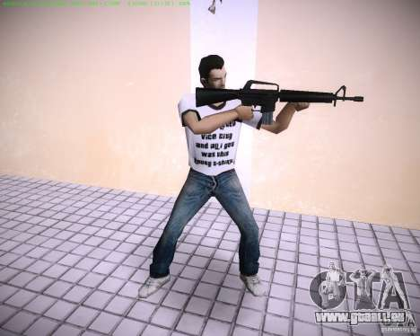 Nouveau M4 pour GTA Vice City